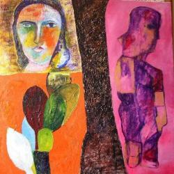 نقاش رنگ روغن سبک مدرنیسم