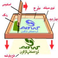 شابلون ونمونه چاپ شده