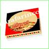 نمونه چاپ بروی جعبه پیتزا